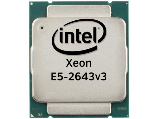 Intel Xeon E5-2643v3 Six Core CPU 3.4GHz, 20MB Cache, SR204