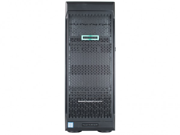 HPE ProLiant ML350 Gen10 Server 8xSFF, 2x Silver 4110 8x 2.1 GHz, 64GB RAM