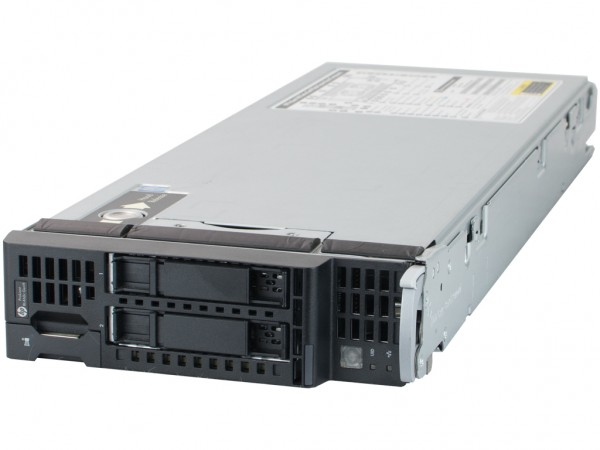 HPE BL460c-G9 Server, 2x Intel E5-2630v3 8x 2.40GHz, 32GB RAM