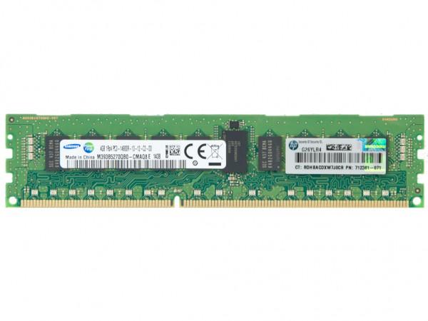 HPE 4GB DDR3 RAM 1Rx4 PC3-14900R-13 REG Dimm, 708637-B21, 715272-001, 712381-071